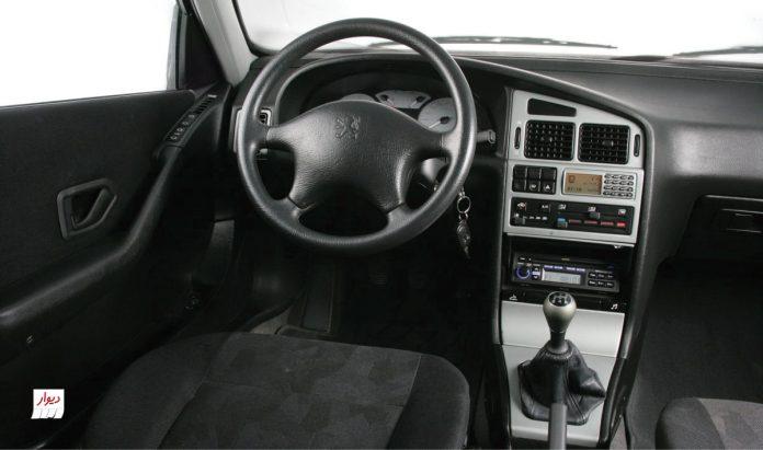 تجربه رانندگی با پژو پارس