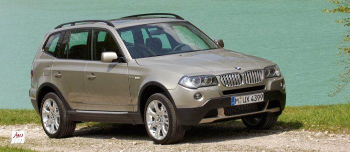 معرفی بامو ایکس تری (BMW X3) و بررسی بازار ایران