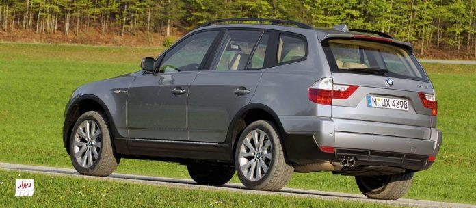 مقایسه بامدبلیو ایکس 3(BMW X3) نسل دوم با خودروهای همرده