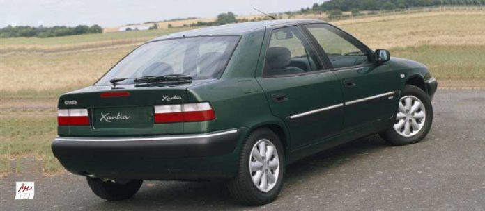 مقایسه سیتروئن زانتیا (CITROEN XANTIA) با خودروهای همرده