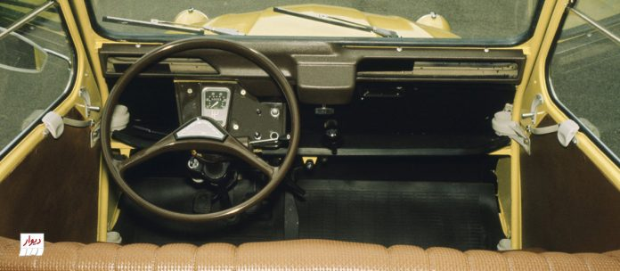 تجربه رانندگی با سیتروئن ژیان (Citroën Dyane)