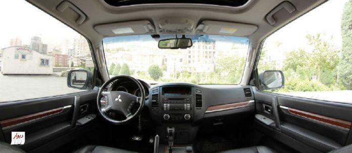 تجربه رانندگی با میتسوبیشی پاجرو دودر