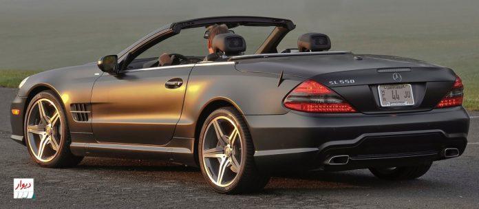 مقایسه مرسدس بنز SL500 با خودروهای همرده