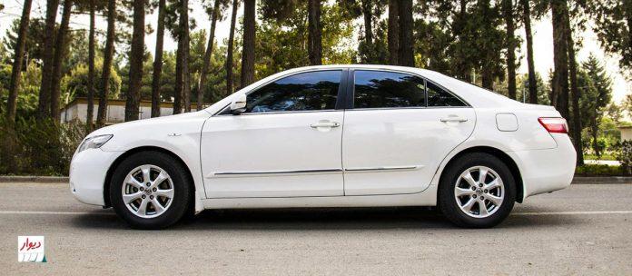 مقایسه تویوتا کمری اتوماتیک نسل هفتم با خودروهای همرده