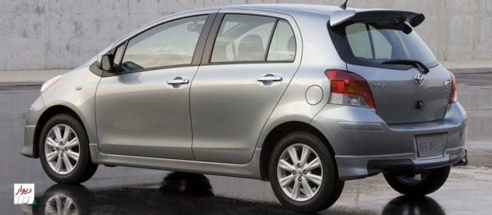مقایسه تویوتا یاریس 1300 با خودروهای همرده