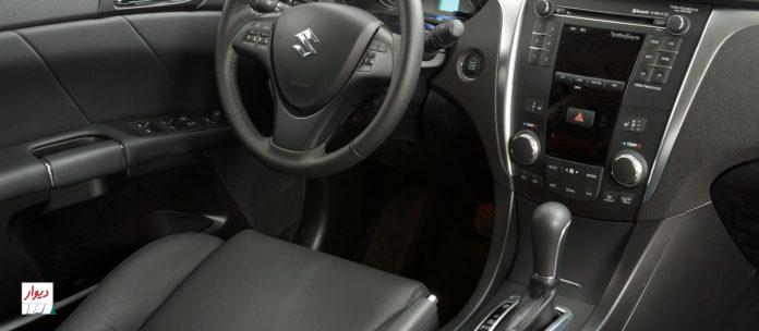 تجربه رانندگی با سوزوکی کیزاشی