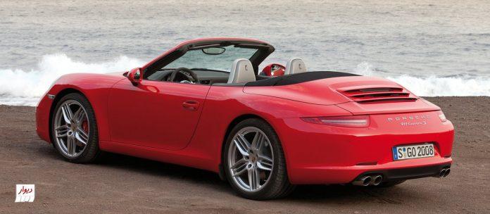 مقايسه پورشه 911 كررا (Porsche 911 carrera) با خودروهای همرده