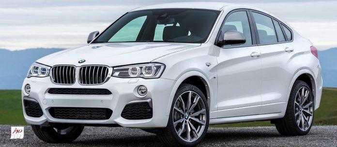 معرفی بامو ایکسفور (BMW X4) و بررسی بازار ایران