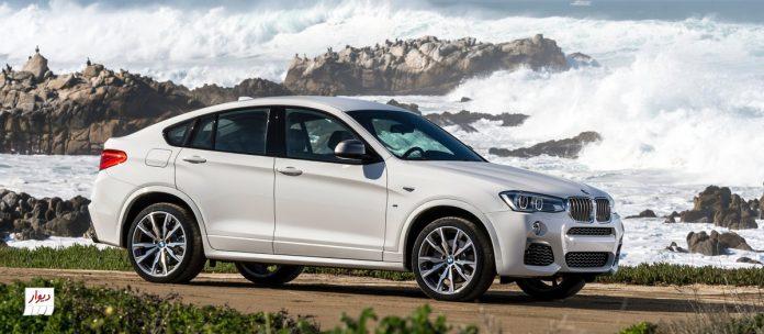 مقایسه بامو ایکسفور (BMW X4) با خودروهای همرده