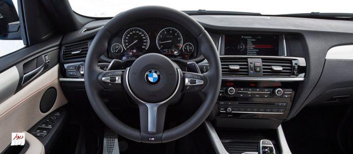 تجربه رانندگی با بامو ایکسفور (BMW X4)