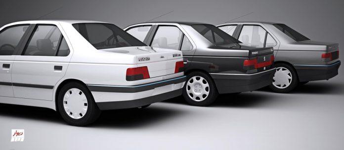 مقایسه پژو 405 با خودروهای همرده