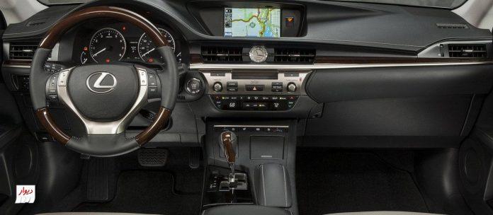 تجربه رانندگی با لکسوس ES 250