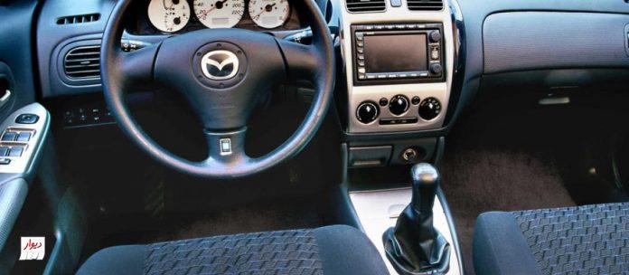 تجربه رانندگی با مزدا 323