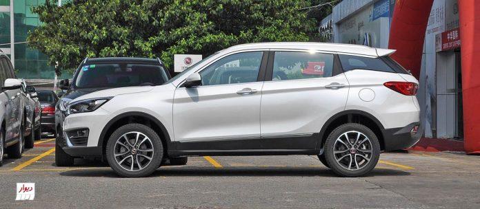 مقایسه هنتنگ X5 با خودروهای همرده
