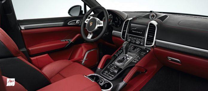 تجربه رانندگی با پورشه کاین