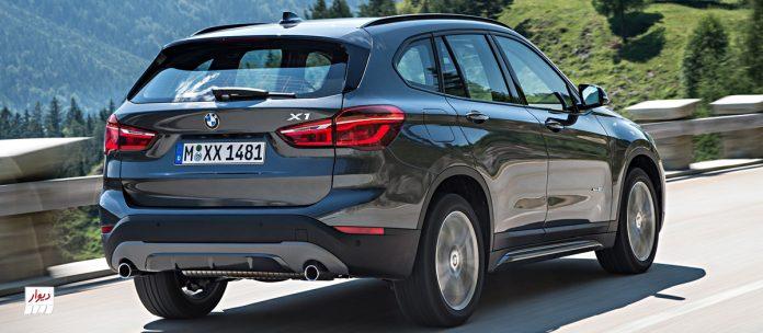 مقایسه بامو ایکس وان (BMW X1) با خودروهای همرده