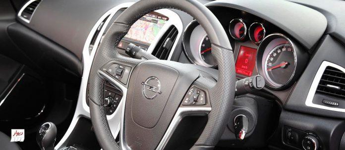 تجربه رانندگی با اوپل آسترای هاچبک (OPEL ASTRA)