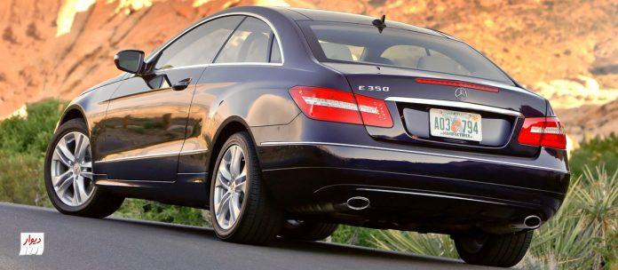 مقایسه مرسدس بنز E350 کوپه با خودروهای همرده