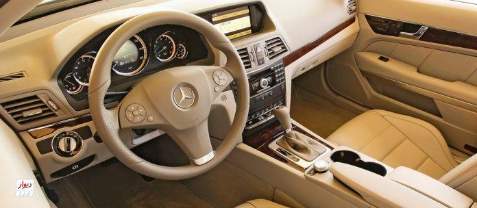 تجربه رانندگی با مرسدس بنز E350 کوپه