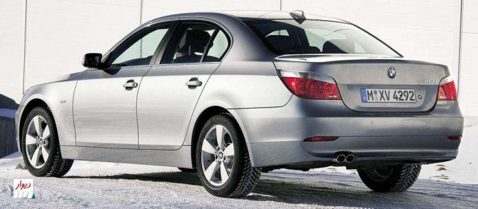 مقایسه بامو سری 5 سدان 530xi با خودروهای همرده