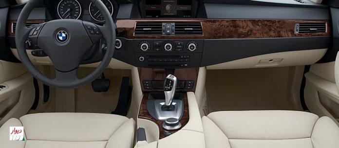 مقایسه مقایسه بامو 535i با خودروهای همرده