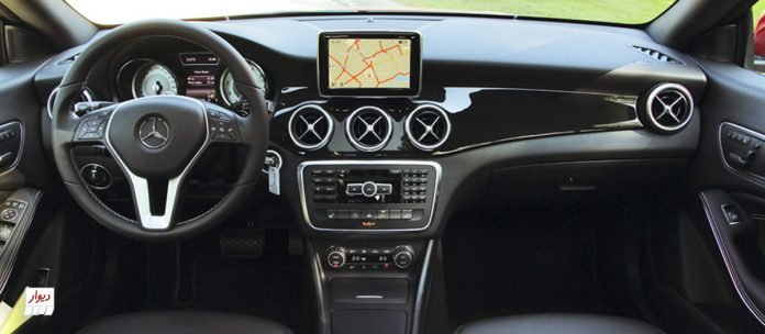 تجربه رانندگی با مرسدسبنز کلاس CLA