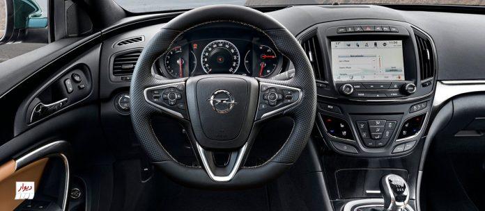 تجربه رانندگی با اوپل اینسیگنیا