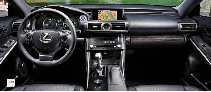 تجربه رانندگی با لکسوس GS 250