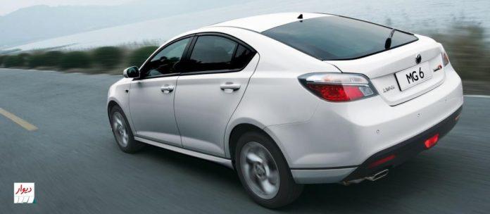 مقایسه MG 6 با خودروهای همرده