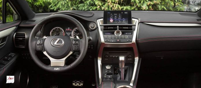 تجربه رانندگی با لکسوس NX200t