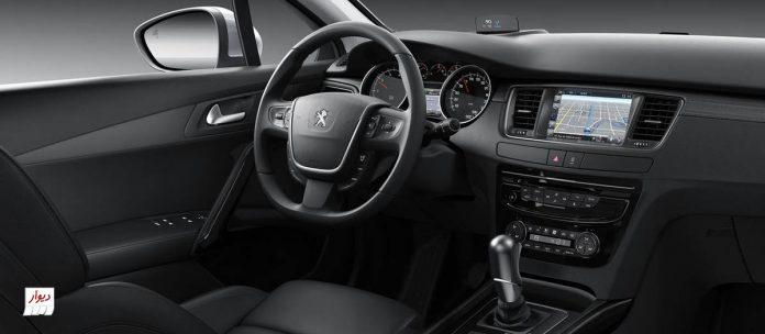 تجربه رانندگی با پژو 508