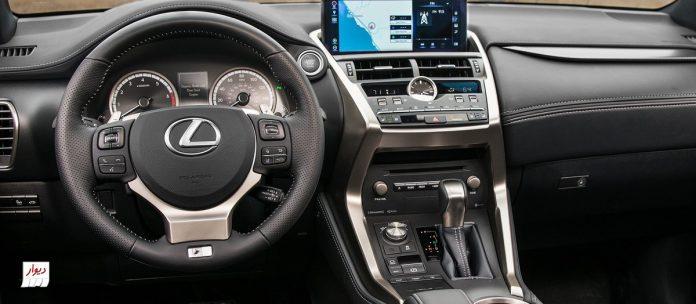 تجربه رانندگی با لکسوس NX300h