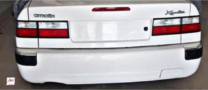 مقایسه سیتروئن زانتیا 2 (CITROEN XANTIA2) با خودروهای همرده