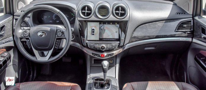 تجربه رانندگی با بیوایدی S7