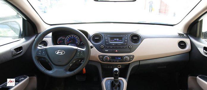 تجربه رانندگی با هیوندای i10