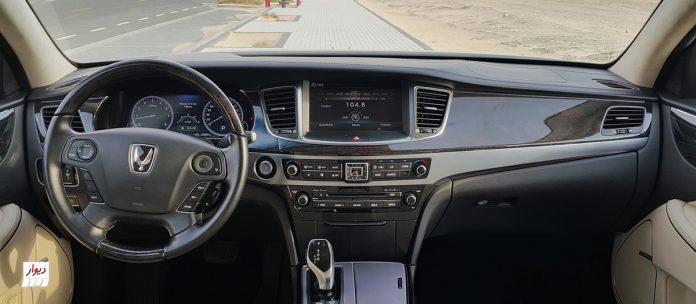 تجربه رانندگی با هیوندای سنتینیال