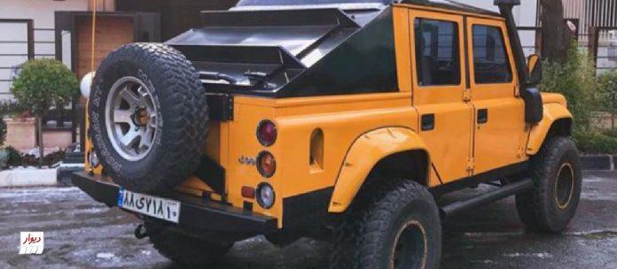 مقایسه لندرور سانتانا مونتاژ (land rover Santana) با خودروهای همرده