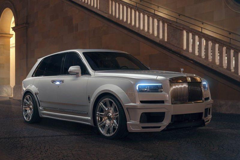 رولز رویس کالینان ؛ یکی از گرانترین خودروهای جهان