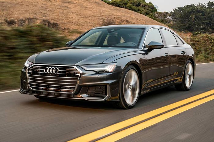 Audi A6 - یکی از ایمنترین خودروهای جهان