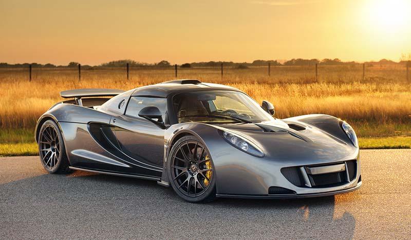 هنسی ونوم GT - نگاهی به سریعترین خودروهای جهان
