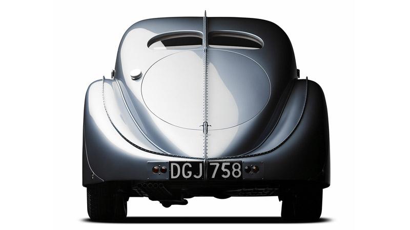 بوگاتی تایپ 57 SC - نمای پشتی