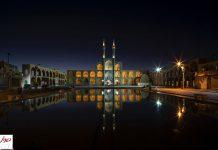 معماری ایرانی در شب