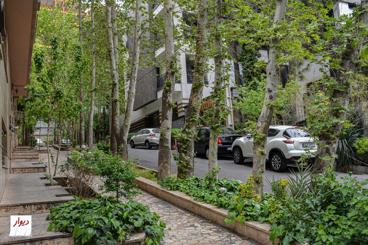 عکس از خیابان محله دروس