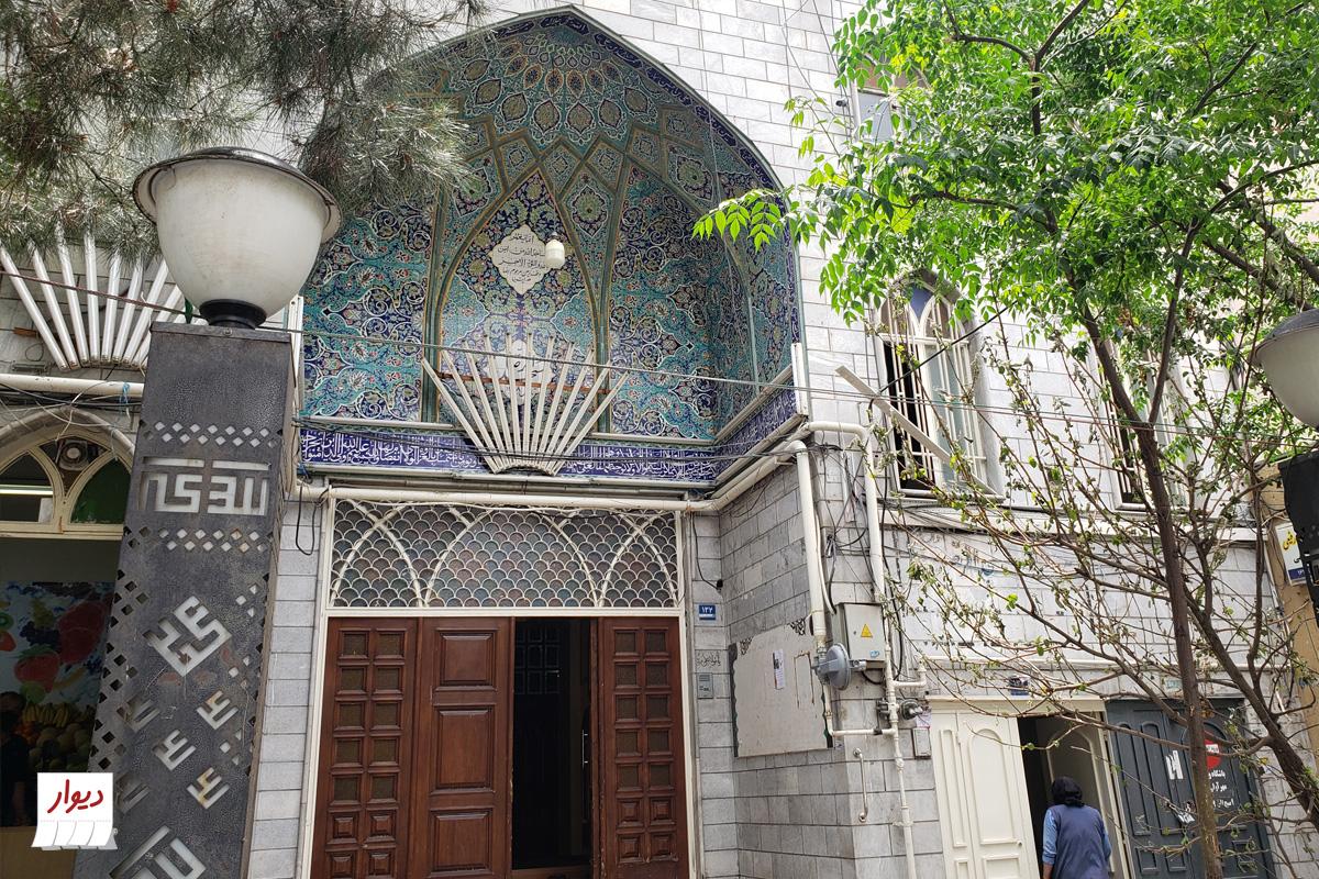 مسجد در خیابان جیحون