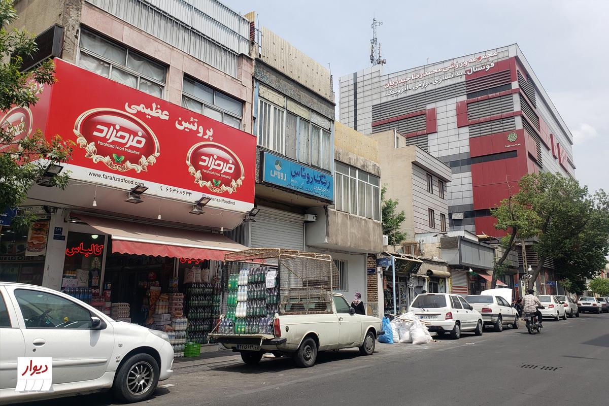 عکس محله جیحون تهران