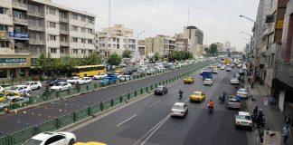 خیابان یا محله جیحون تهران