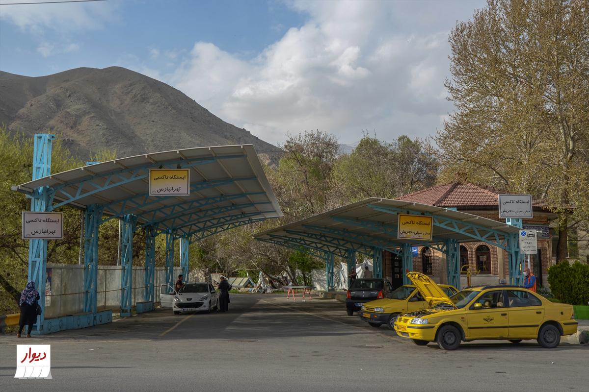 حمل و نقل عمومی محله و شهر لواسان تهران