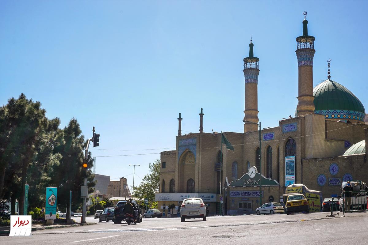 مسجد محله سعادت آباد تهران