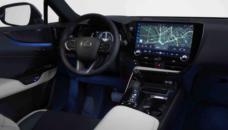 نمای داخلی نسل جدید لکسوس NX مدل 2022