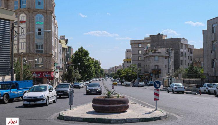 خیابان حبیب الله در ستارخان